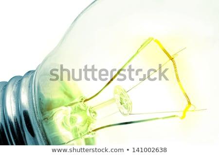 zielone · fluorescencyjny · żarówki · technologii · elektrycznej - zdjęcia stock © oly5