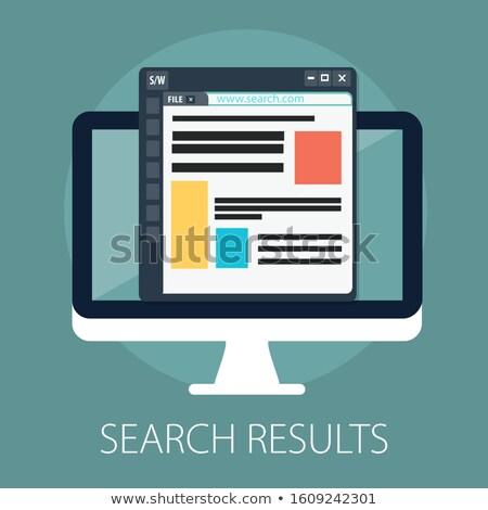 Data search concept Stock photo © oblachko