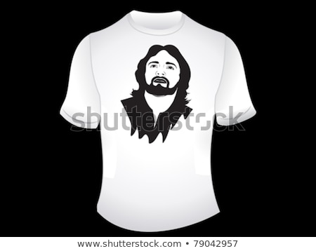 abstract artistic jesus tshirt Stock photo © pathakdesigner
