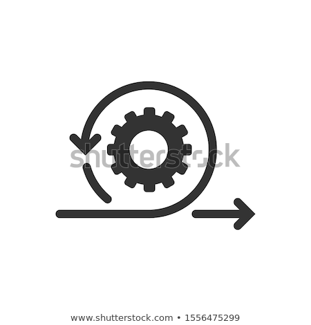 vektor · élet · bicikli · diagram · piros · munka - stock fotó © orson