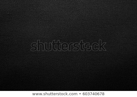 black textile Stock photo © prill