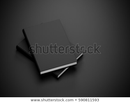 Two books on a black background Stock photo © pzaxe