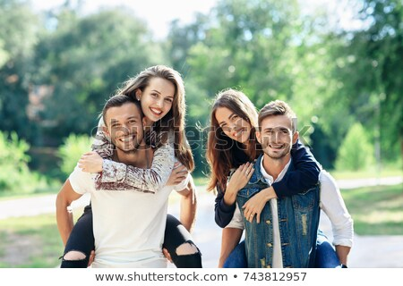 Two couples on a double date. Stock photo © photography33