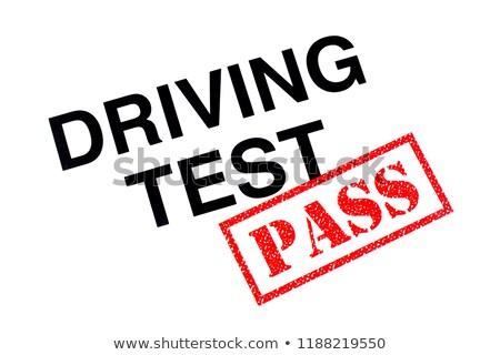 bem · sucedido · condução · corpo · instrutor · adolescente · estudante - foto stock © lisafx