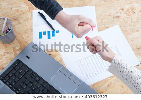 Man and woman in a clinch Stock photo © photography33
