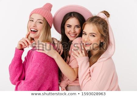 Three pretty girls Stock photo © Aikon