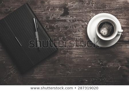 Empresario escrito organizador trabajador ver carpeta Foto stock © photography33