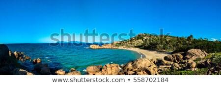 Vencedor porto panorama fora granito ilha Foto stock © THP