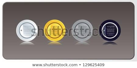 könyvjelzők · retro · különböző · színek · háló · üzlet - stock fotó © vitek38