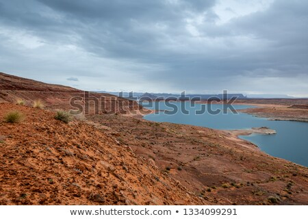 Wahweap Marina Wahweap Bay Lake Powell Glen Canyon Recreation Arizona Stock photo © billperry