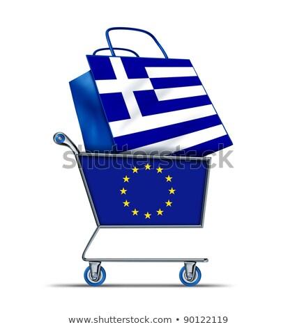 Griechenland Verkauf Europa kaufen griechisch Schulden Stock foto © Lightsource