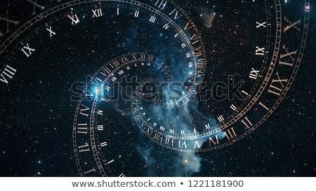 zaman · seyahat · saat · sözler · beyaz · iletişim - stok fotoğraf © ivelin