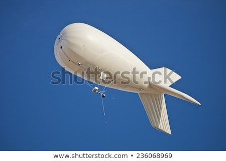 dirigible in the sky Stock photo © kyolshin