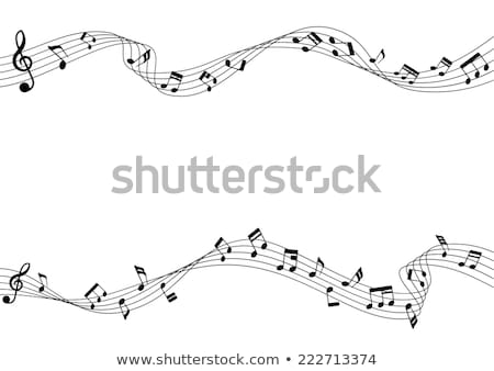 music notes 2 stock photo © paha_l