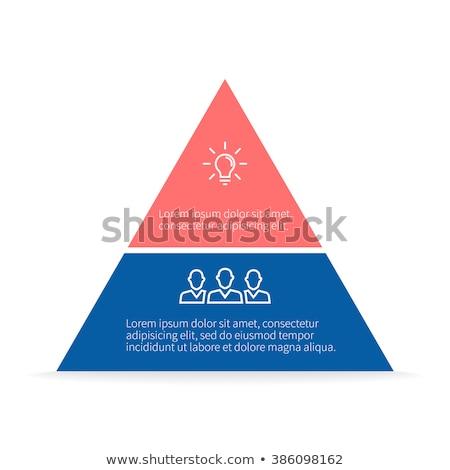遺跡 · ピラミッド · ギザ · エジプト · 空 · 砂漠 - ストックフォト © zzve