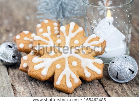 Frosted Holiday Cookies for the Season of Joy  Stock photo © tab62