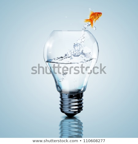 fishes inside the Light Bulb stock photo © hussain_al-king