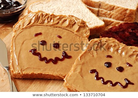 Making Peanut butter and Jelly Sandwich  Stock photo © tab62