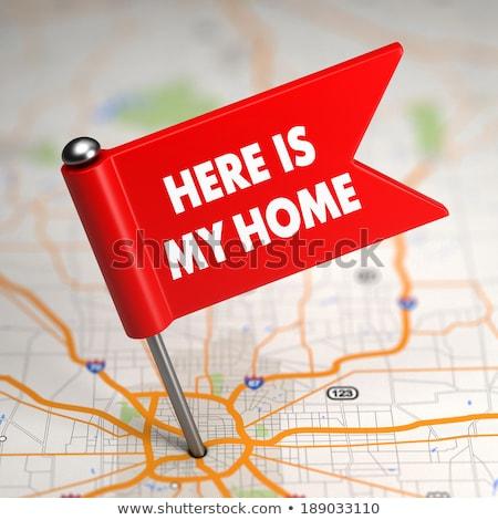 inmobiliario · servicios · casa · comprador · consejo · hipoteca - foto stock © tashatuvango