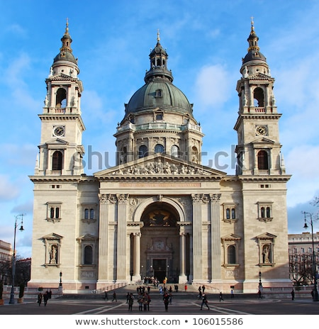 st stephens basilica the largest church in budapest hungary stock photo © bloodua