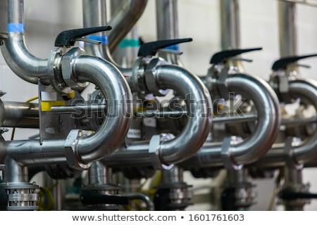 ステンレス鋼 タンク 醸造所 発酵 ビール 作業 ストックフォト © RuslanOmega