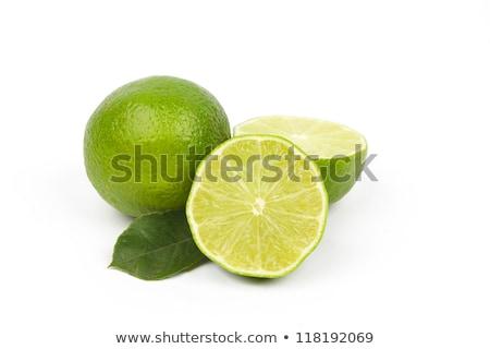 Isolado branco natureza verde cor alimentação Foto stock © natika