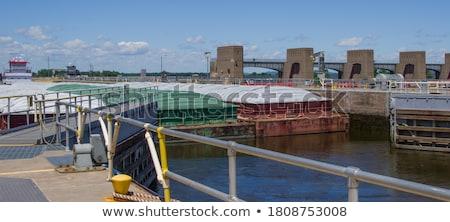 Dam Gates Stock photo © rghenry