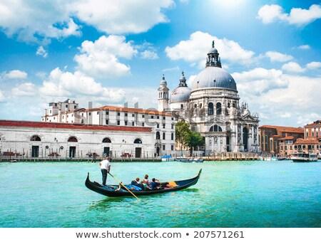 Canal Grande with Basilica di Santa Maria della Salute Stock photo © vwalakte