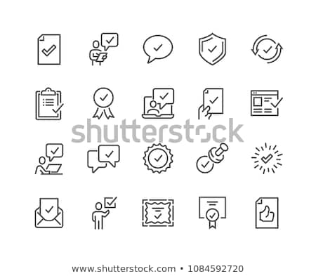 Checkmark Quality Buttons Stock photo © cteconsulting