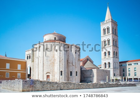 Zadar St. Donatus Church  Stock photo © LianeM