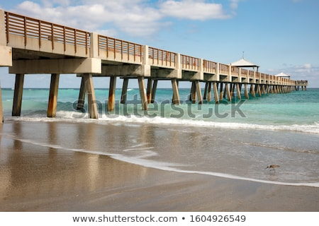 pier at Sunny Isles Beach in Miami  Stock photo © meinzahn