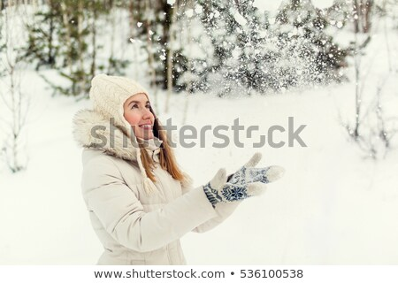 picture of pretty christmas girl stock photo © nobilior