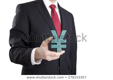 Biznesmen jen podpisania człowiek Zdjęcia stock © sqback