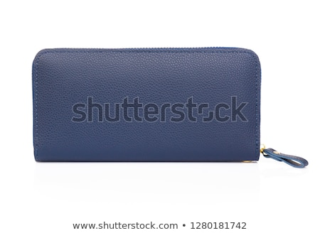 оранжевый синий кожа бизнеса торговых карт Сток-фото © ozaiachin