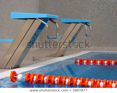 start place in pool 2 Stock photo © Paha_L