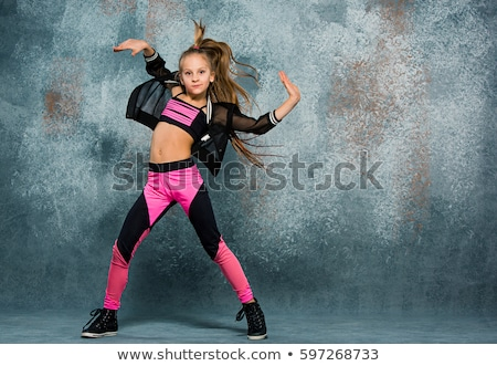 hip-hop and pretty girls posing Stock photo © Paha_L