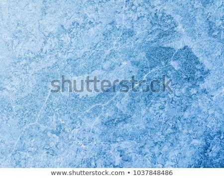 texture frozen of the river Stock photo © OleksandrO