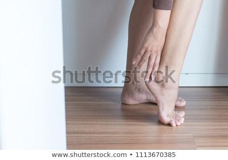 足首 · 足 · 痛み · スケルトン · 徒歩 - ストックフォト © deandrobot
