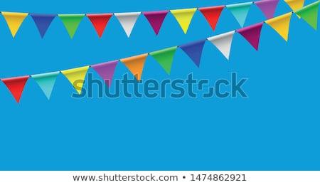 sirk · çadır · yalıtılmış · çerçeve · sanat · bayrak - stok fotoğraf © get4net
