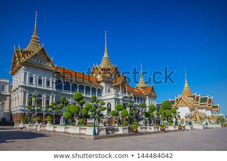 Dak paleis Bangkok Thailand kunst vintage Stockfoto © Mariusz_Prusaczyk