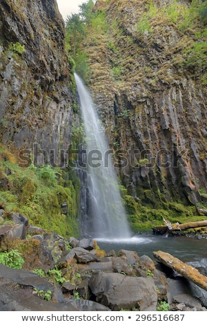 dry creek falls stock photo © davidgn