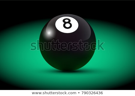 snooker game with ball globe Stock photo © get4net