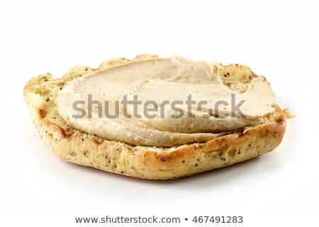 Grill tostato pane fetta fegato sandwich Foto d'archivio © Digifoodstock