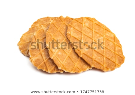 Crisp waffle Stock photo © Digifoodstock