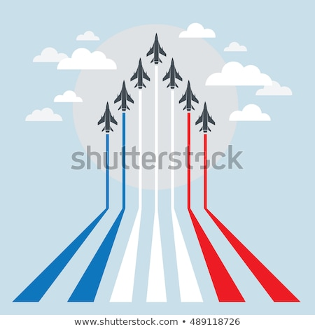 A fighter jet flying Stock photo © bluering
