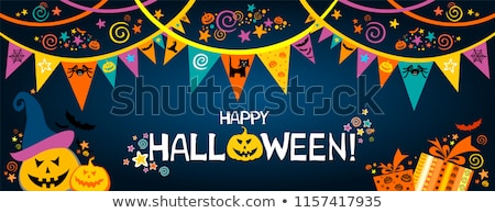 Halloween Text With Blot Stock photo © adamson