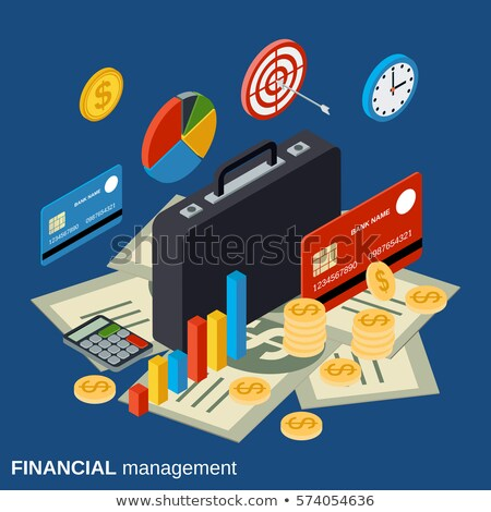 Financial Management on Watch. 3D Illustration. Stock photo © tashatuvango