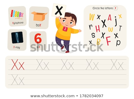 Puzzle lettere alfabeto gioco bambini adulti Foto d'archivio © Olena