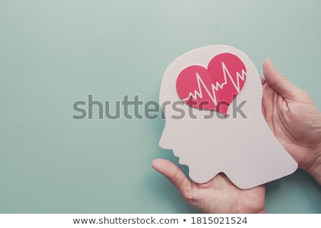 silhouette of the disease is a stroke  Stock photo © Olena