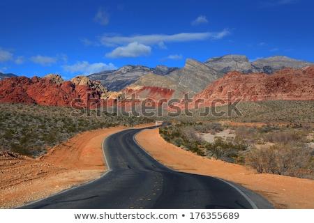 красивой пейзаж красный рок каньон панорамный Сток-фото © bezikus